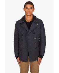 G-Star RAW - Blue Cl New Rib Coat for Men - Lyst