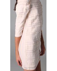 IRO | Natural Zanita Layered Dress | Lyst