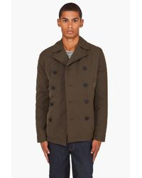 J.Lindeberg | Green Bender Twill Coat for Men | Lyst