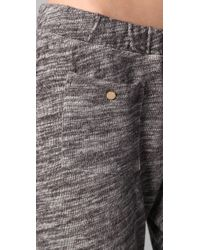 Juicy Couture - Black Relaxed Sweatpants - Lyst