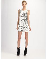 Rachel Zoe | White Peggy Sequined Shift Dress | Lyst