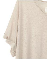Rag & Bone | Gray The Oversized V-neck | Lyst