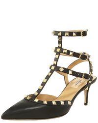 Valentino | Black So Noir Sandals 100 | Lyst
