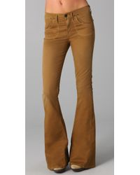 Citizens of Humanity | Brown Angie Super Flare Jeans | Lyst