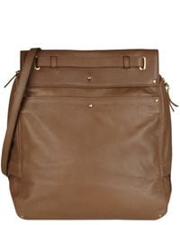 Jérôme Dreyfuss | Brown Tan Pedro Structured Strap Bag | Lyst
