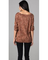 Marc By Marc Jacobs - Multicolor Leopard Print Sweater - Lyst