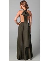 Twobirds   Green Long Convertible Dress   Lyst