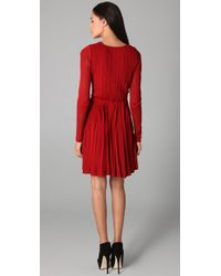Camilla & Marc | Red Little Scarlet Pleated Dress | Lyst