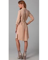 Club Monaco - Natural Hollie Dress - Lyst