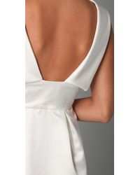 Thread Social - White Tyler Cowl Neck Dress - Lyst