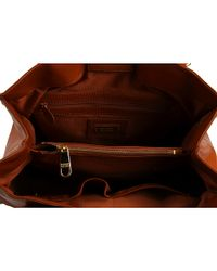 Badgley Mischka - Brown Petra Leather Tote Bag - Lyst