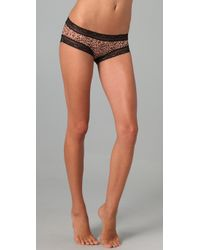 Honeydew Intimates | Black Wild Things Boy Shorts | Lyst