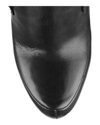 Alexander Wang - Black Constance Leather Platform Ankle Boots - Lyst