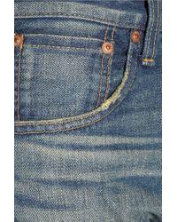 Junya Watanabe - Blue Boyfriend-fit Straight-leg Jeans - Lyst