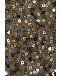 Vince   Metallic Cluster Sequin Top   Lyst