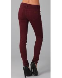 Joe's Jeans - Red Alice Skinny Visionaire Jeans - Lyst
