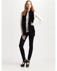 Marc By Marc Jacobs | Black Hayworth Long Vest | Lyst