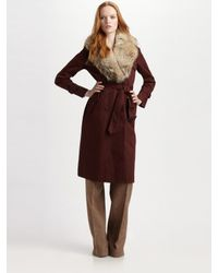 Marc By Marc Jacobs | Brown Penn Trench Coat | Lyst