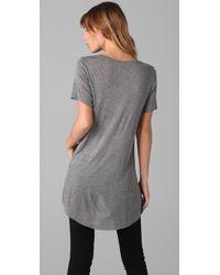 Zoe Karssen - Gray Poisoned Lovers Cropped T-shirt - Lyst