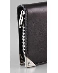 Alexander Wang | Black Prisma Compact Wallet | Lyst