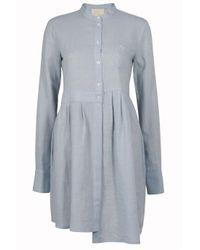 Boy by Band of Outsiders | Blue Asymmetric Shirt Dress | Lyst