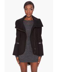 Mackage - Black Eloise Chic Coat - Lyst