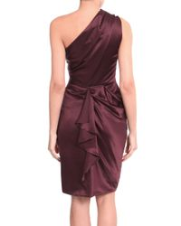 Roksanda | Purple One-shouldered Dress | Lyst