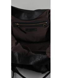 Vanessa Bruno - Black Pleated Satchel - Lyst