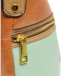 ASOS Collection | Brown Asos Colour Block Bucket Bag | Lyst