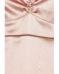 Marni - Pink Silk-blend Chemise - Lyst