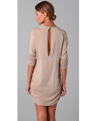 3.1 Phillip Lim - Natural Illusion Back Dress - Lyst