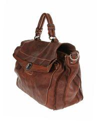 Giorgio Brato   Brown Top Handle Bag   Lyst