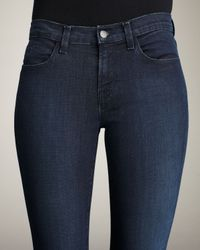J Brand - Blue Super Skinny Majestic Jeans - Lyst