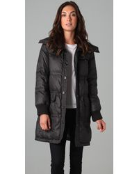 Marc By Marc Jacobs | Black Kent Long Down Puffer Coat | Lyst