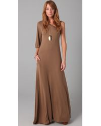 Rachel Pally | Brown Leandra Long Dress | Lyst
