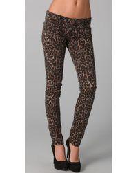 Rebecca Minkoff | Multicolor Jessica Cheetah Jeans | Lyst