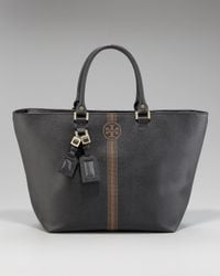 Tory Burch - Black Roslyn Leather Tote - Lyst