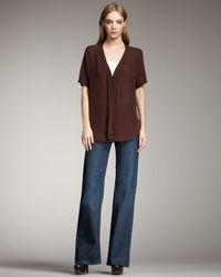 Vince | Blue Fonda Flare Jeans, Sierra | Lyst