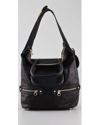 See By Chloé - Black Tomo Convertible Shoulder Bag - Lyst