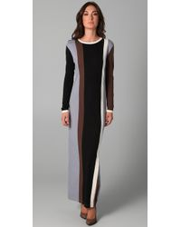 Antipodium - Black Powerhouse Long Dress - Lyst
