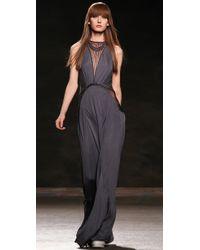 Doo. Ri | Gray Macrame Gown  | Lyst