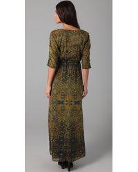 Twelfth Street Cynthia Vincent - Green Dolman Maxi Dress - Lyst