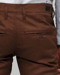 Cheap Monday - Slim Chino in Dark Brown for Men - Lyst