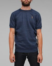 Lightning Bolt - Blue Crew Raglan for Men - Lyst
