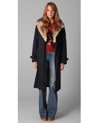 Marc By Marc Jacobs | Blue Penn Trenchcoat | Lyst