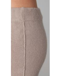 T By Alexander Wang | Gray Long Tube Dress / Skirt | Lyst