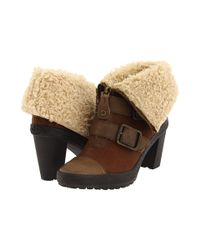 Juicy Couture - Brown Polly Buckle Boots - Lyst