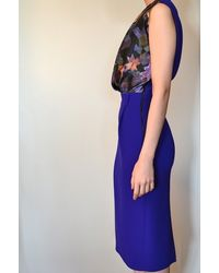 Preen By Thornton Bregazzi   Blue Lavender Dress   Lyst