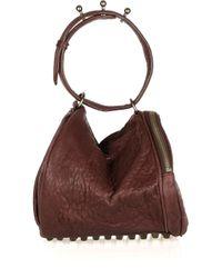Alexander Wang - Angela Textured-leather Bag - Lyst