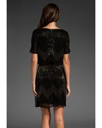 Alice + Olivia | Black Catalina Cut-out Dress | Lyst